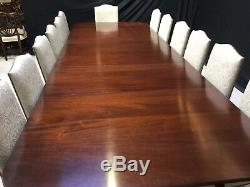 13ft Harrods Ultra Opulent Regency style Dining table, Pro French polished
