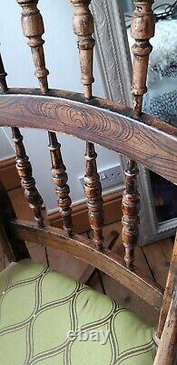 19th C Antique Rocking Chair, possible french. Rare wood, great used condition