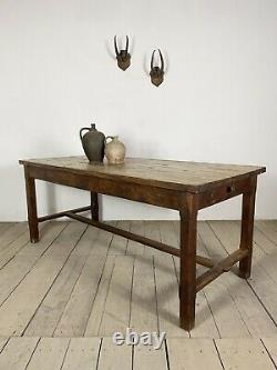 19th Century Antique French Refectory Kitchen Dining Table