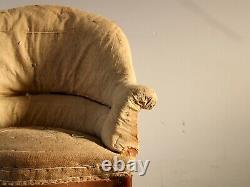 19th Century French'Crapaud' Armchair For Reupholstery