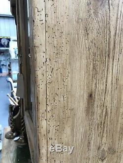 19th Century French Dresser Victorian Glazed Pine Dresser