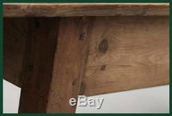 9ft 6 Large French Farmhouse Pine Kitchen/dining Table