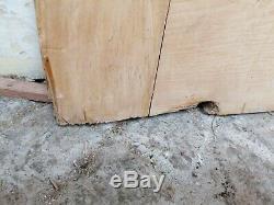 A Pair Of Reclaimed Victorian Pine French Internal / External Doors Dp0291
