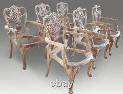 Amazing dining chairs sets 8,10,12,14,16,18 to French polished and Upholstered
