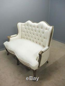 Antique 19th Century French Walnut Sofa