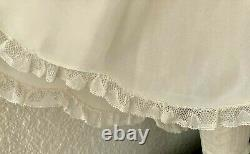Antique Exquisite, French Lace Lawn Dress/Slip for LARGE Jumeau-Bru, German Doll