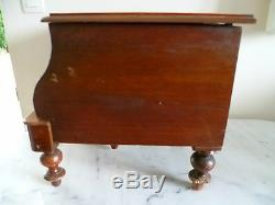 Antique French, Children's Wooden Commode. Champagne Bucket, Wine Bottle Cooler