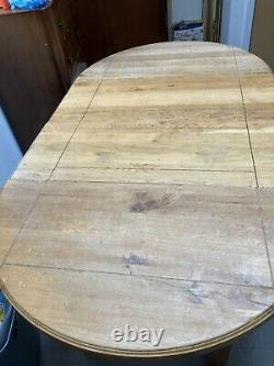 Antique French Circular Dining Table