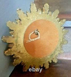 Antique French Sorcerers, Sun Burst Convex Mirror