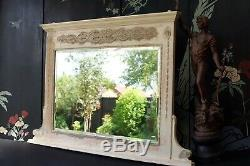Antique Mirror Victorian French Chic Large Overmantel Delivery Available