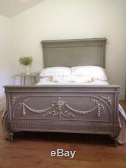 Antique french Kingsize bed