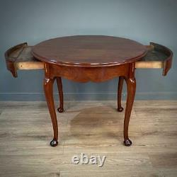 Attractive Antique Edwardian Mahogany Small French Dining Table