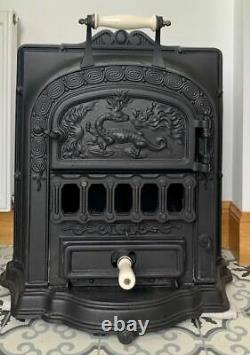 Beautiful Art Deco Antique French Stove /Wood Burner