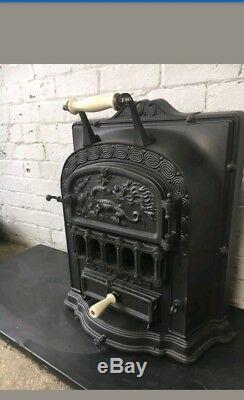 Beautiful Art Deco Antique French Stove /Wood Burner del £25