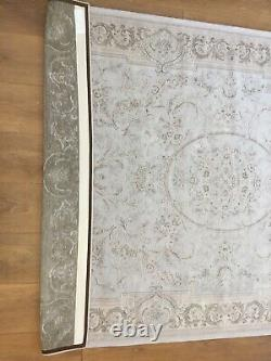 Brand New Laura Ashley Pale Blue Victoriana Baroque Rug 198 W X 137cm D