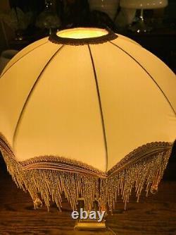 Brass Corinthian Oil Lamp, Stunning Downton Victorian Look French