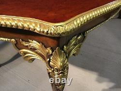 CMC Designs Burr Walnut Marquetry dining table Range Pro French polished