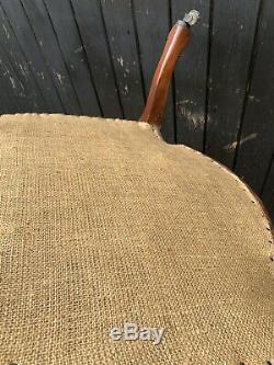 Elegant Mahogany Frame French Style Armchair