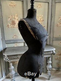 FRANKREICH Antike Schneiderpuppe Antique french Victorian Mannequin