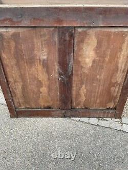 Fantastic Large 19th Century French Provincial Fruitwood Pantry Cupboard