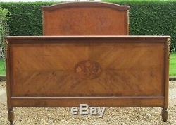 French Empire King Size (5ft Wide) Double Bed With Pine Base