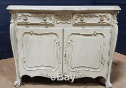 French Painted Buffet Sideboard Cupboard Dresser Victorian circa 1880