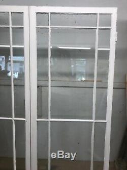 Georgian Victorian French Doors Old Antique Period Reclaimed Anti Window Tax Gem