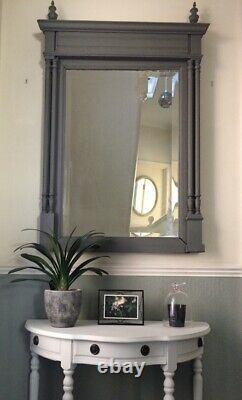Large Antique French Victorian Mirror