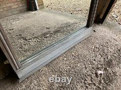 Large French Antique Chateau Window Mirror