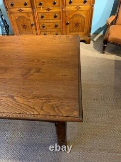 Large French Chestnut Farmhouse Table