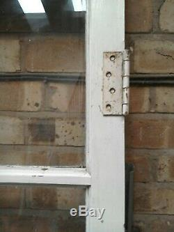 Original Antique Victorian reclaimed/salvaged external french doors