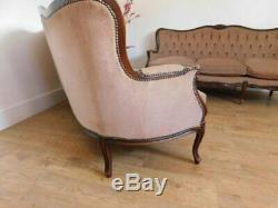 Pair of vintage french style sofas