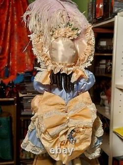 Pat Loveless Antique Reproduction Jumeau 20 Victorian Bebe French Doll 1997