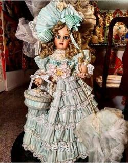 Pat Loveless Mint Lady Jumeau Antique Victorian Reproduction French Doll 26