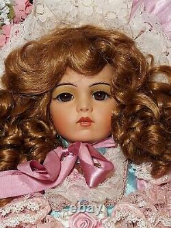 Pat Loveless Pink Lace Bru Jne Antique Victorian Reproduction French Doll 26