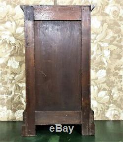 Pharmacy medicine / key cabinet Antique french wood victorian cupboard furniture