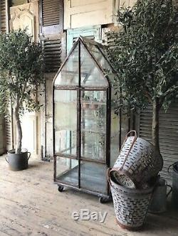 Pretty French Reclaimed Victorian Style Greenhouse