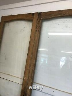 Solid Oak Doors Set Period Wood Reclaimed Antique Double Front Pair French
