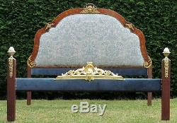 Super King Size 6ft 6 wide Double Bed with New Upholstery and Pine Base