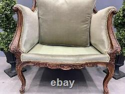 Victorian French Ladies Chair Bedroom Chair Rare Shape