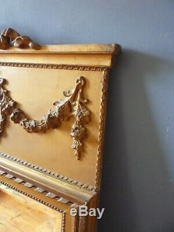 Vintage French Trumeau Mirror