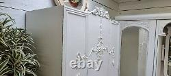Vintage Painted French Deco Single Wardrobe Shabby Chic CAN ARRANGE COURIER