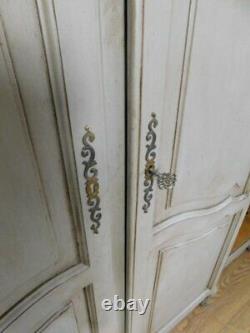 Vintage french armoire wardrobe
